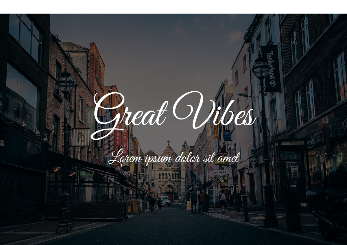 9. Great Vibes